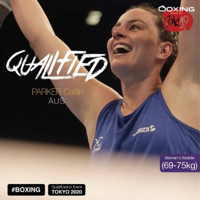 Caitlin Parker - boxer qualified for the 2021 Tokyo Olympics