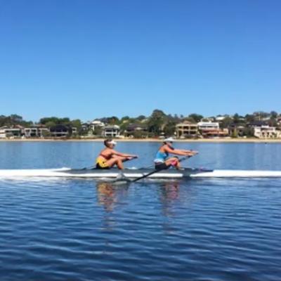 Rebecca Pretorius Australian Rowing Championships Logo