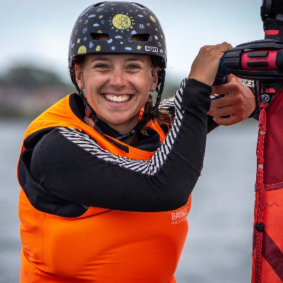 Samantha Costin IQFoil Olympic Campaign