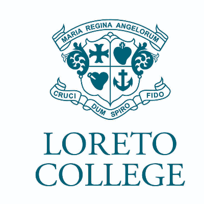 Seat in the Loreto New First Eight Logo