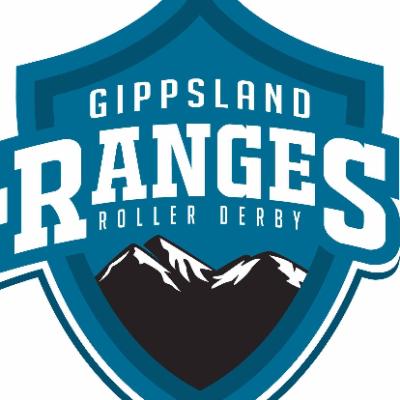 Gippsland Ranges Roller Derby Flood Relief Logo