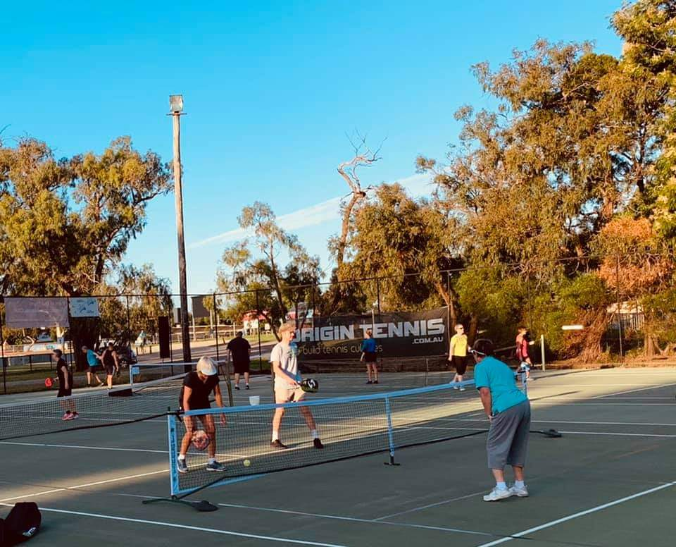 Come Try Pickleball Banner