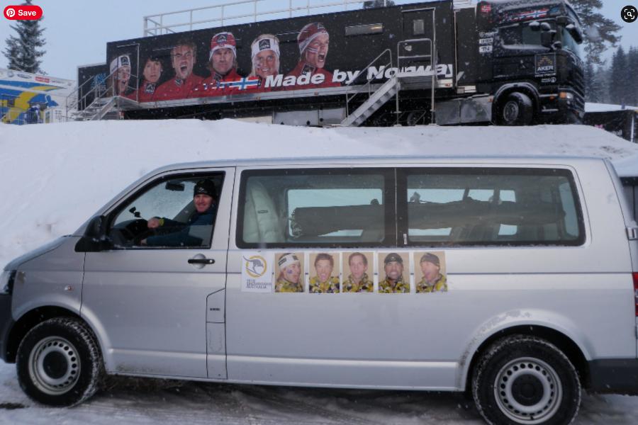 AUSXC European Tour Team Van Banner