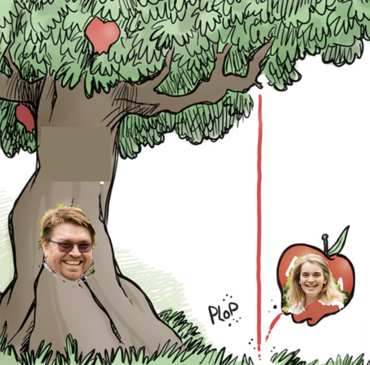 The Apple and the Tree - Will and JD