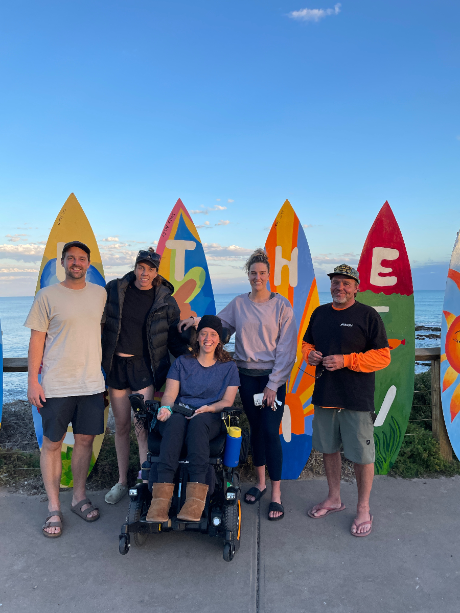 Jocelyn - ISA Para Surfing World Champs Logo