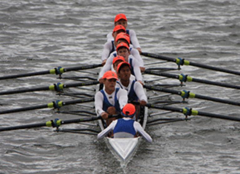 Churchie Rowing Logo