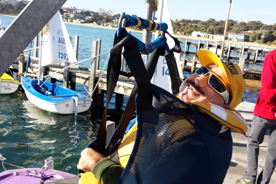 Sailability Program at Mornington Banner