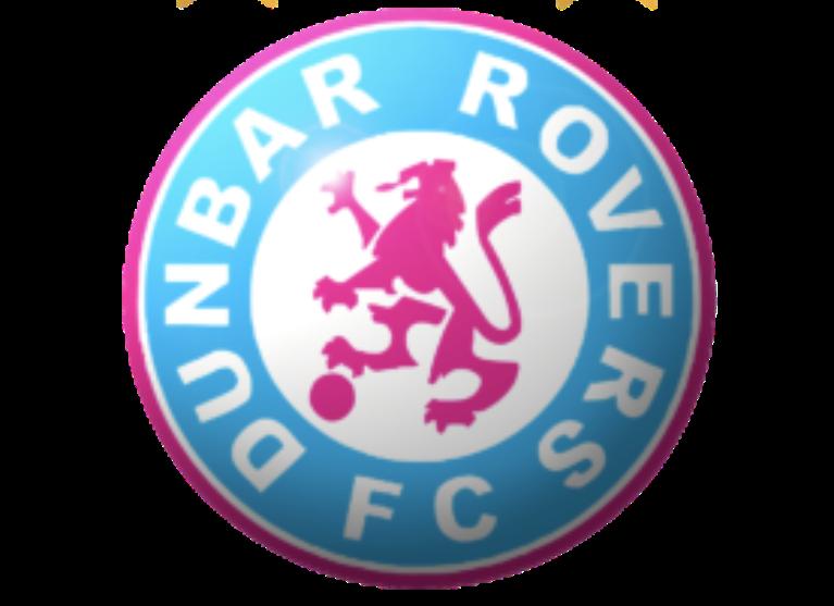 Dunbar Rovers Fee Free Football Logo