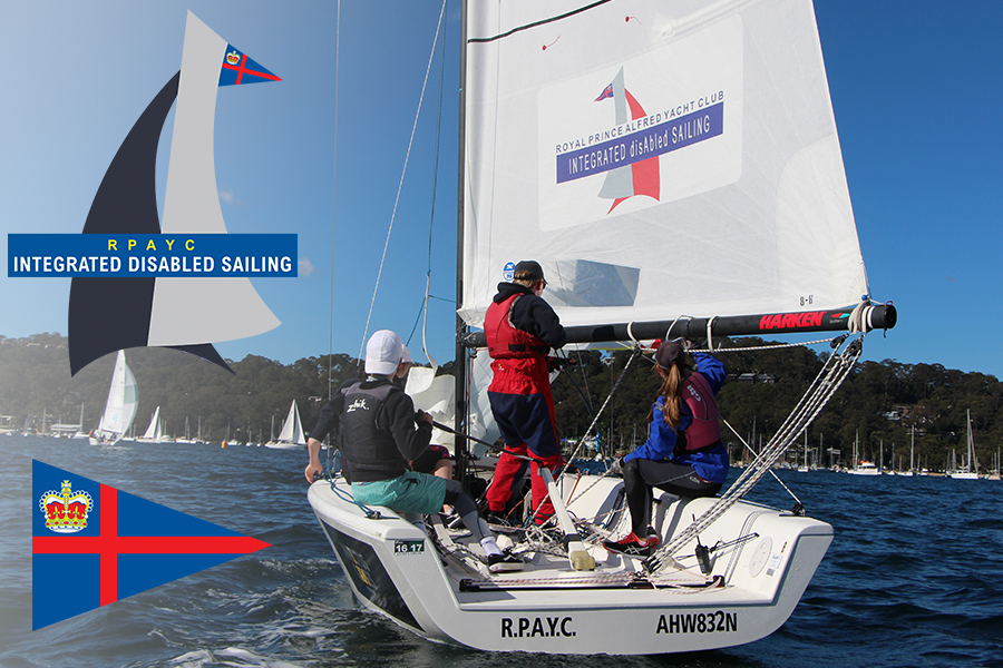RPAYC Integrated disAbled Sailing Banner
