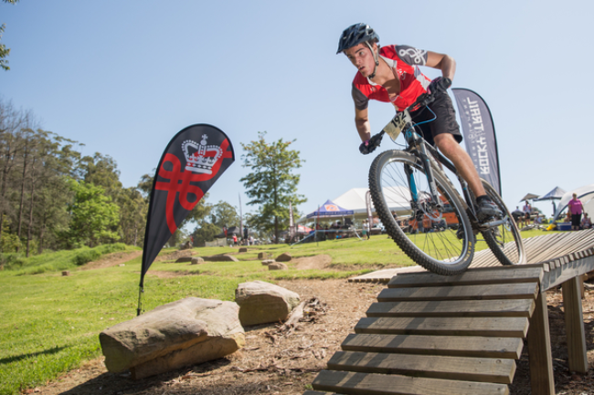 The Kings School Mountain Bike Facility Banner