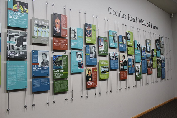 Circular Head Hall of Fame Banner