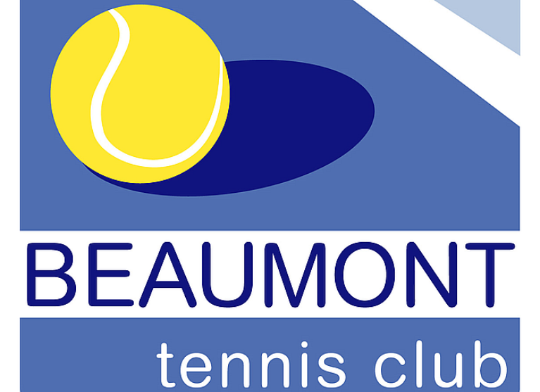 Beaumont Tennis Club Court Lights Logo
