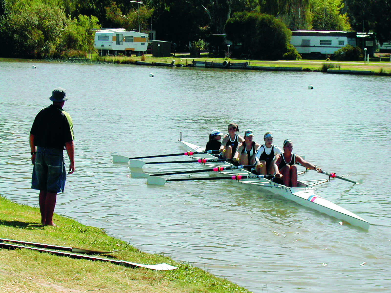 Swan River Rowing Equipment Banner