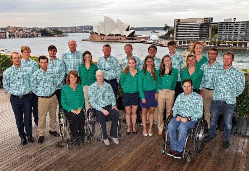 Australian Sailing Team Banner
