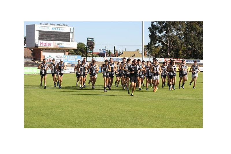 Port Adelaide Magpies Junior Football Academy Banner