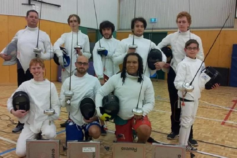 Fencing Equipment Banner