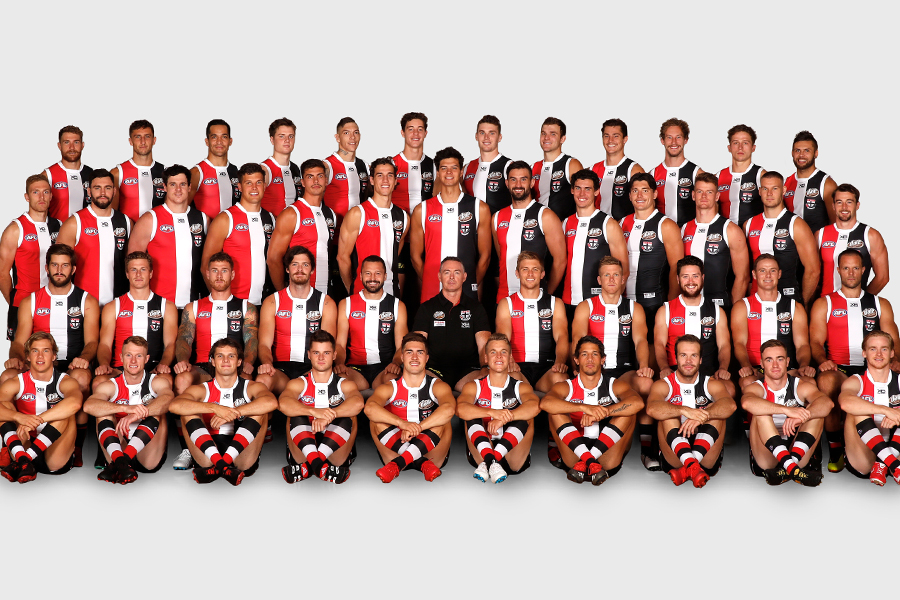 St Kilda Football Club Player and Facilities Fund Banner