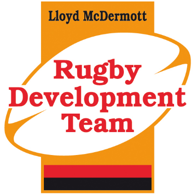 Lloyd McDermott Rugby Development Program Logo