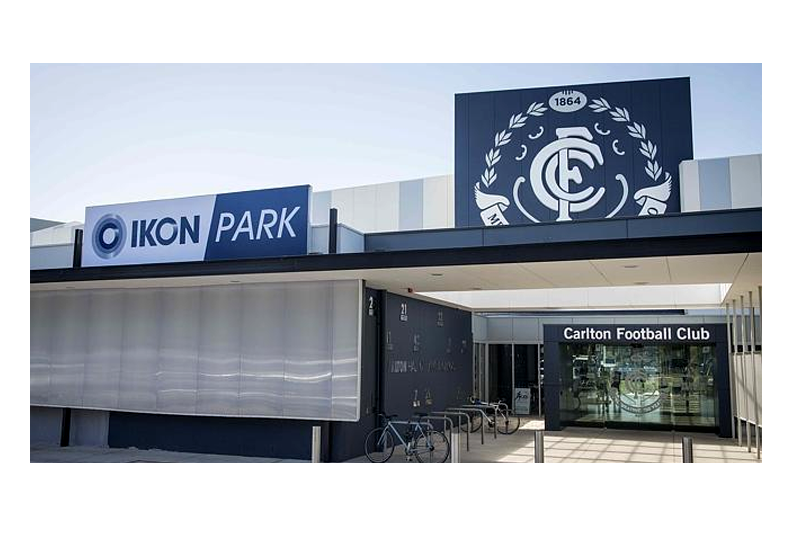 The Carlton Football Club Elite Training Facilities Project Banner