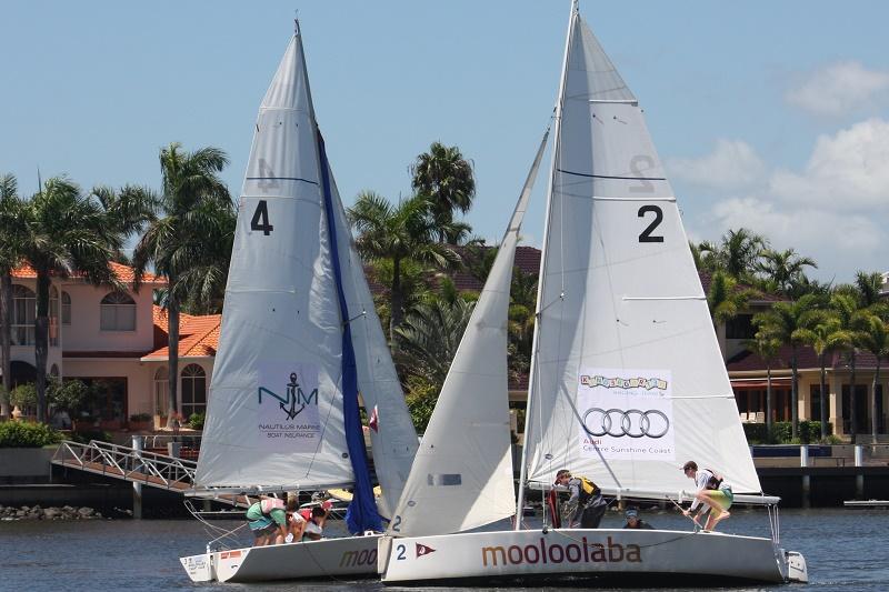 Mooloolaba Yacht Club Youth Sailing Squad Banner