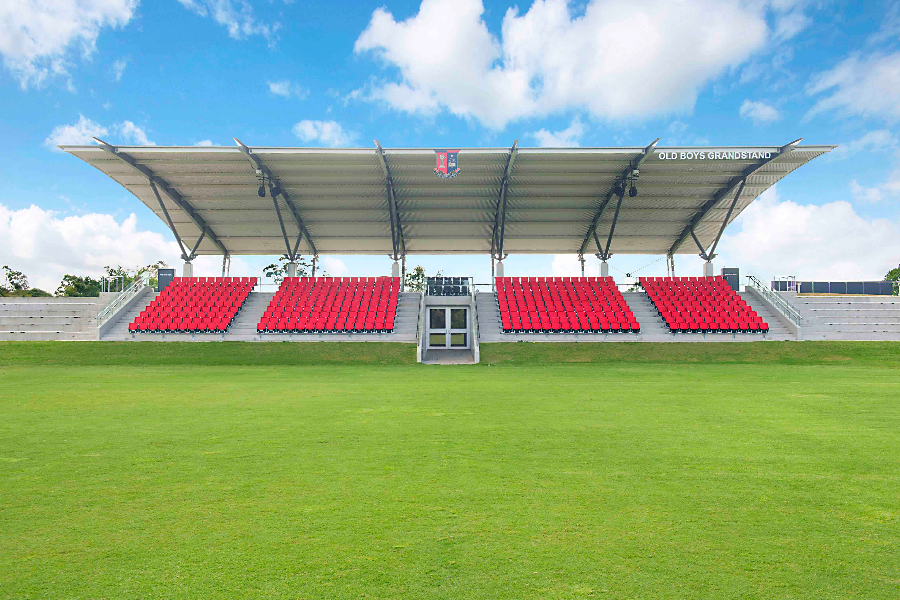 Gregory Terrace Sporting Facility Development Fund Banner
