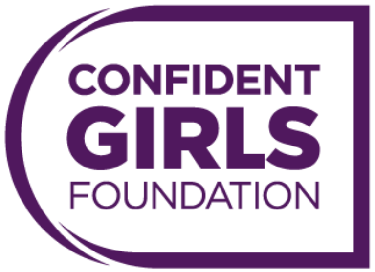 Confident Girls Diamonds Circle Logo