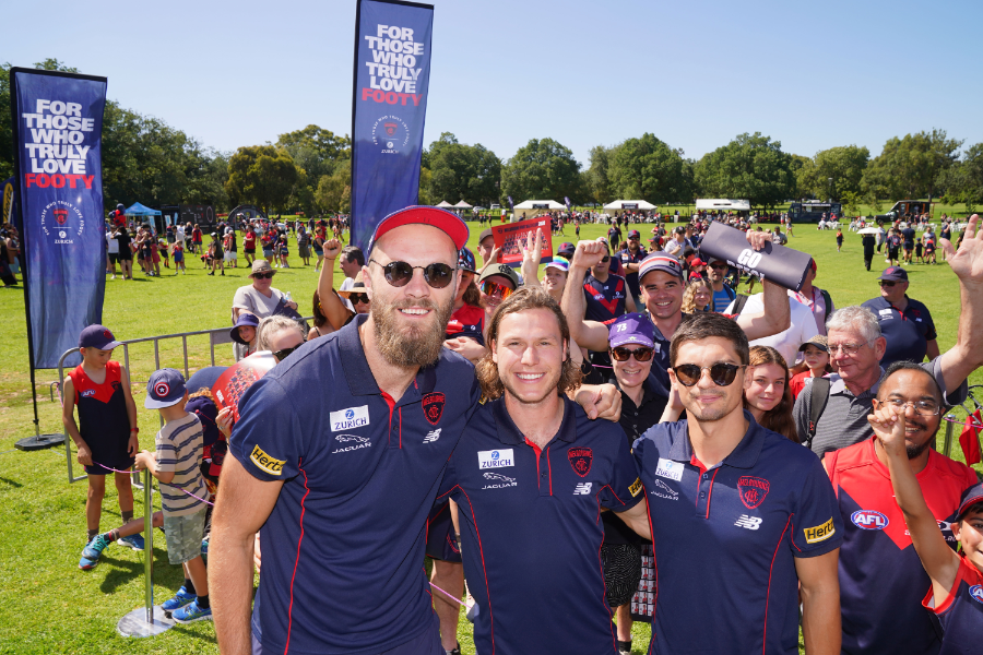 Melbourne Football Club Community and Grassroots Programs Banner