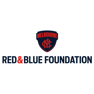 Melbourne Football Club Community and Grassroots Programs Logo