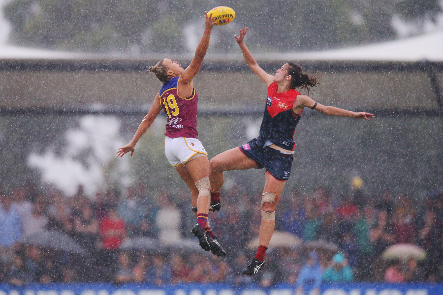Melbourne Football Club Womens Programs and AFLW Banner