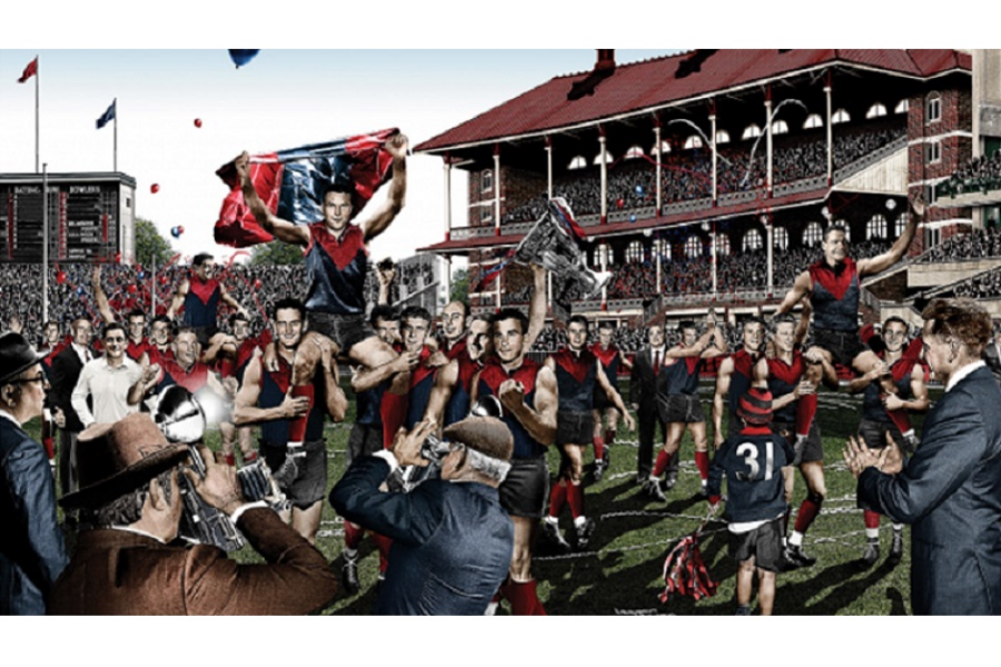 Melbourne Football Club History and Heritage Banner