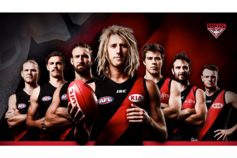 Essendon Football Club Foundation Banner