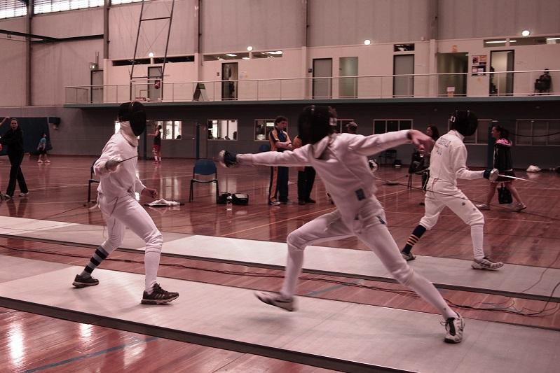 Sydney Boys Fencing Banner