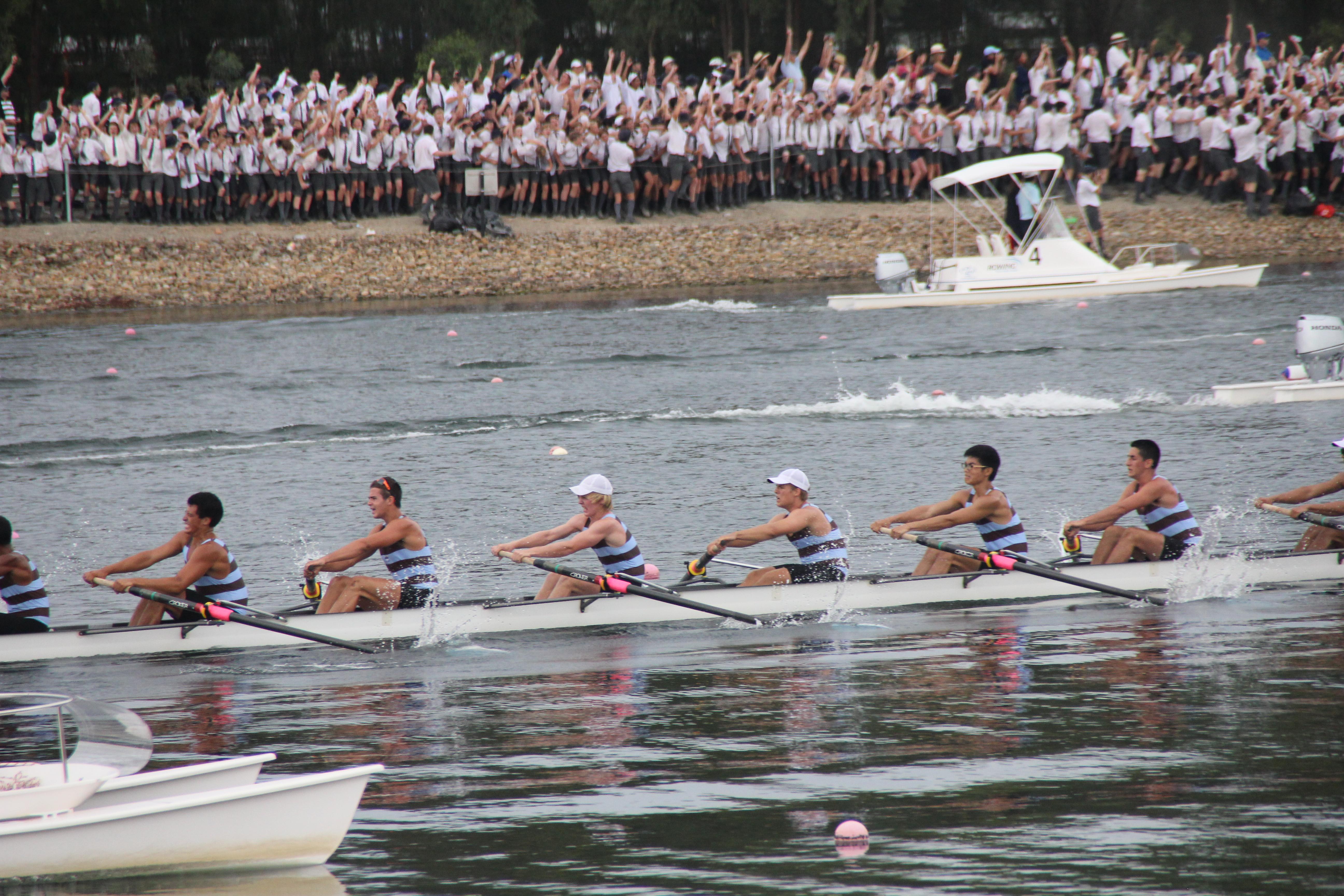 Sydney Boys Rowing Banner