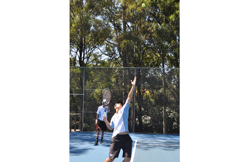 Sydney Boys Tennis Banner