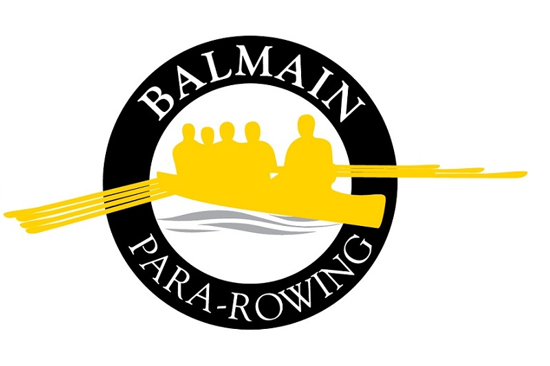 Balmain Para Rowing Team Travel Logo