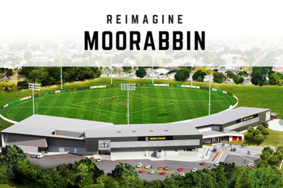 Reimagine Moorabbin- STAGE 2- Grandstand Aquatic and Wellness Centre Banner