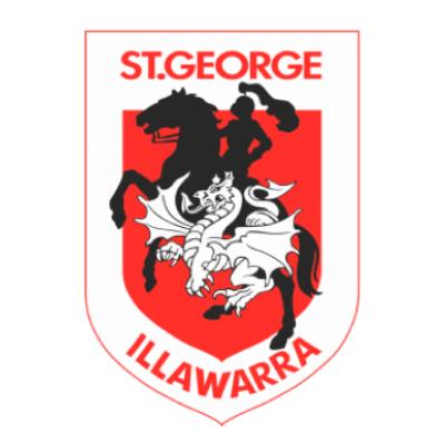 St George Illawarra Rugby League Football Club Logo