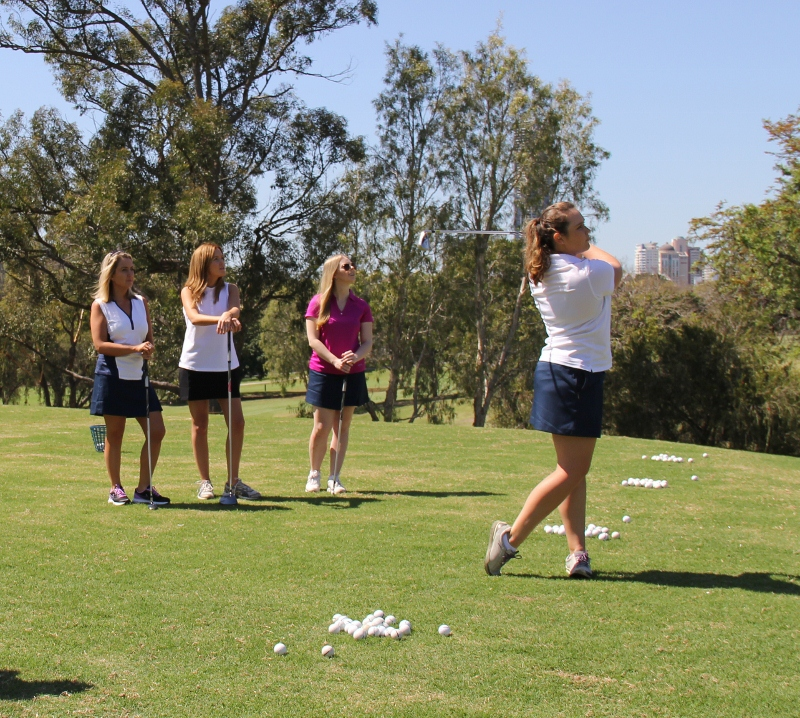 Queensland Golf Foundation Ladies Golf Banner