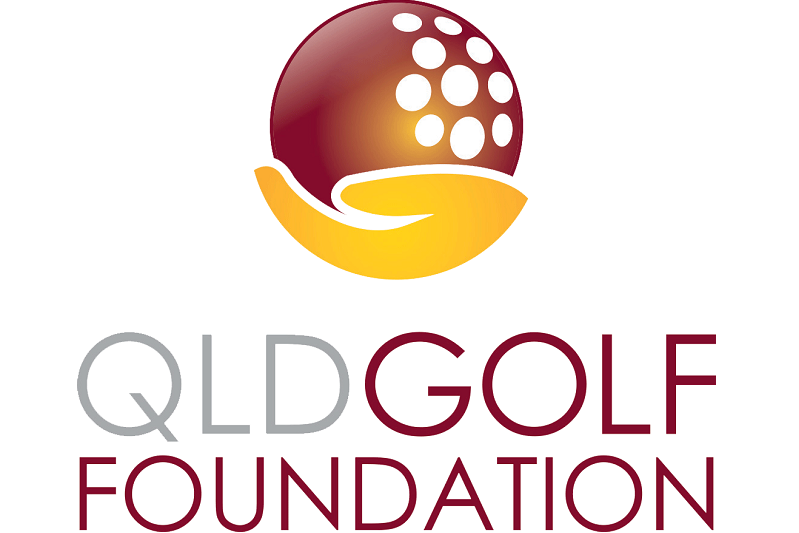 Queensland Golf Foundation Clubs and Districts Logo