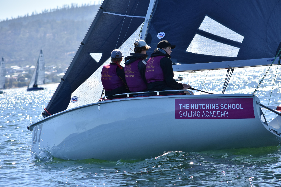 The Hutchins School Sailing Academy Banner