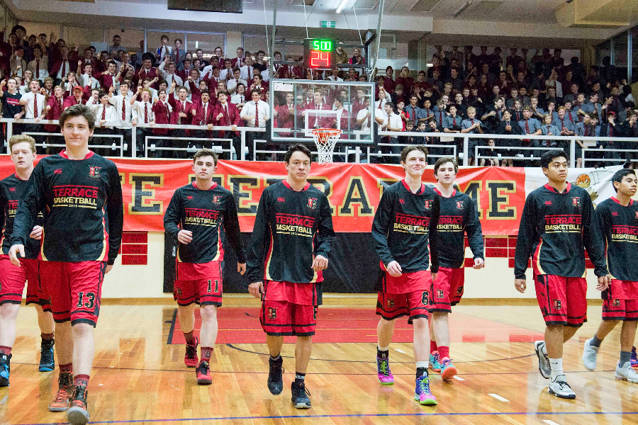 Gregory Terrace Basketball Touring Fund Banner