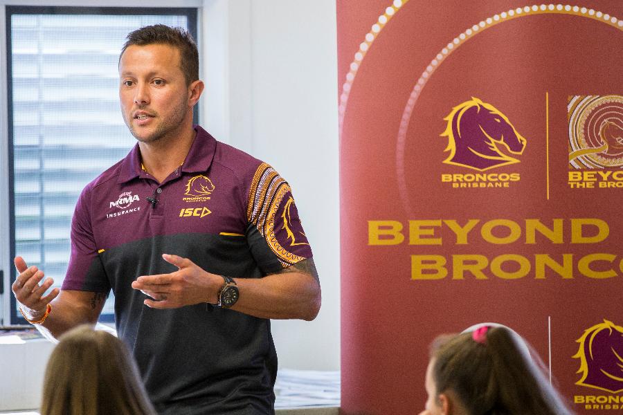 Brisbane Broncos Community Programs Banner