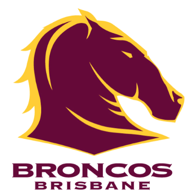 Brisbane Broncos Game Development Logo