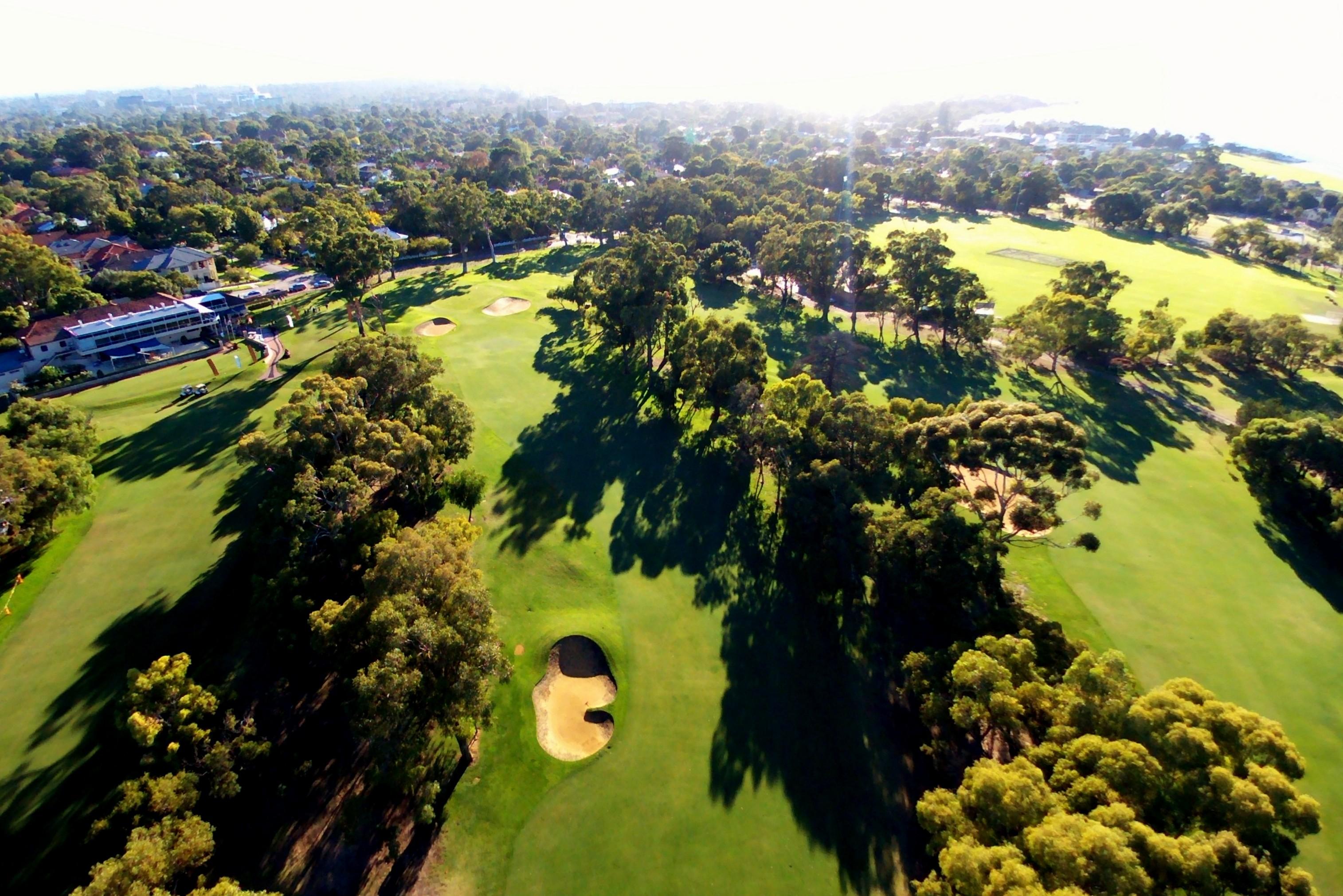 Nedlands Golf Club Banner