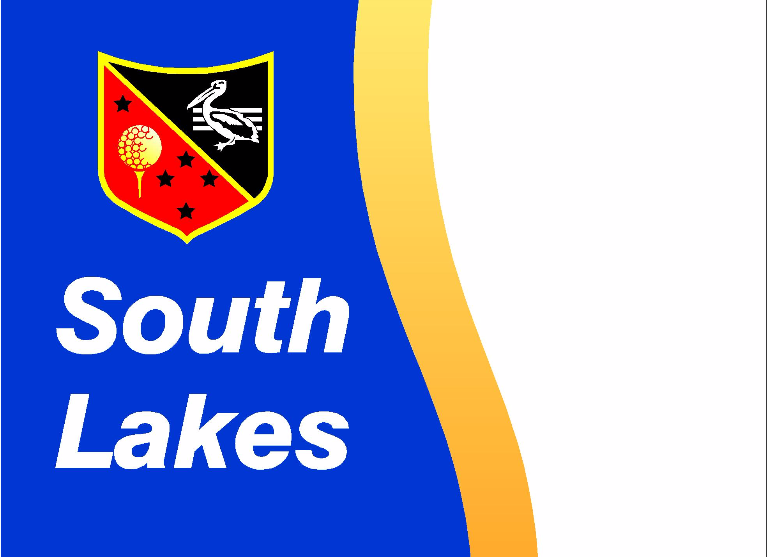 South Lakes Golf Club New Cart Storage Shed Logo