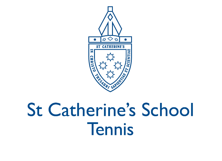 St Catherines Tennis Logo