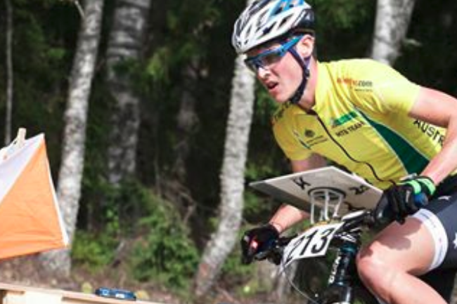 National Mountain Bike orienteering team Banner