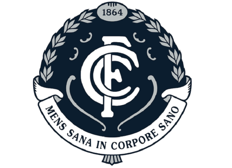 Carlton Blues Womens Program Logo
