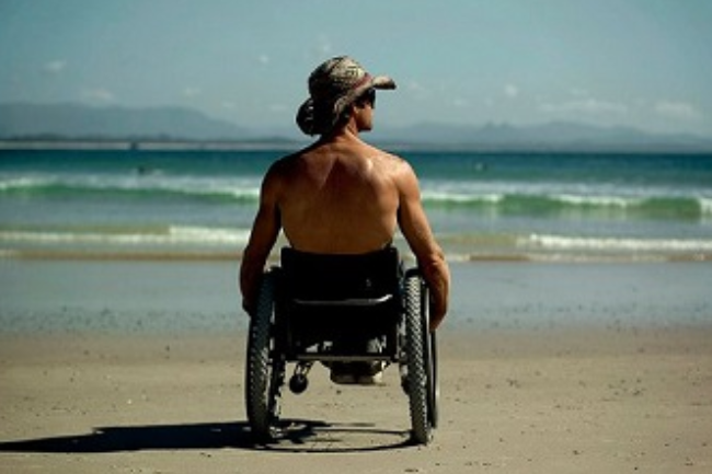 David Munk Adaptive Surfers of Australia Banner
