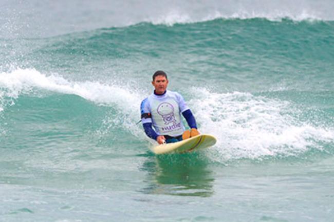 David Munk Adaptive Surfers of Australia Banner